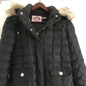 Juicy Couture down/feather jacket Size Medium